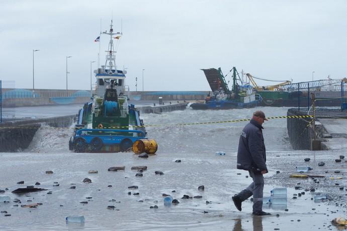 150.000 litros de gasoil en riesgo de derrame en el mar