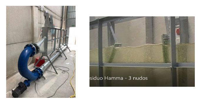 Construcción de maquetas en Canal hidráulico artificial