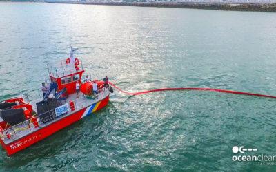 Trois navires navigueront dans le détroit contre les algues envahissantes.