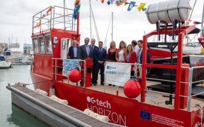 Nouveau navire OC-Tech Horizon: innovation Cadiz pour le nettoyage marin