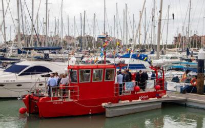 Diputación valora la excelencia innovadora del buque OC-Tech Horizon, creado por dos empresas gaditanas