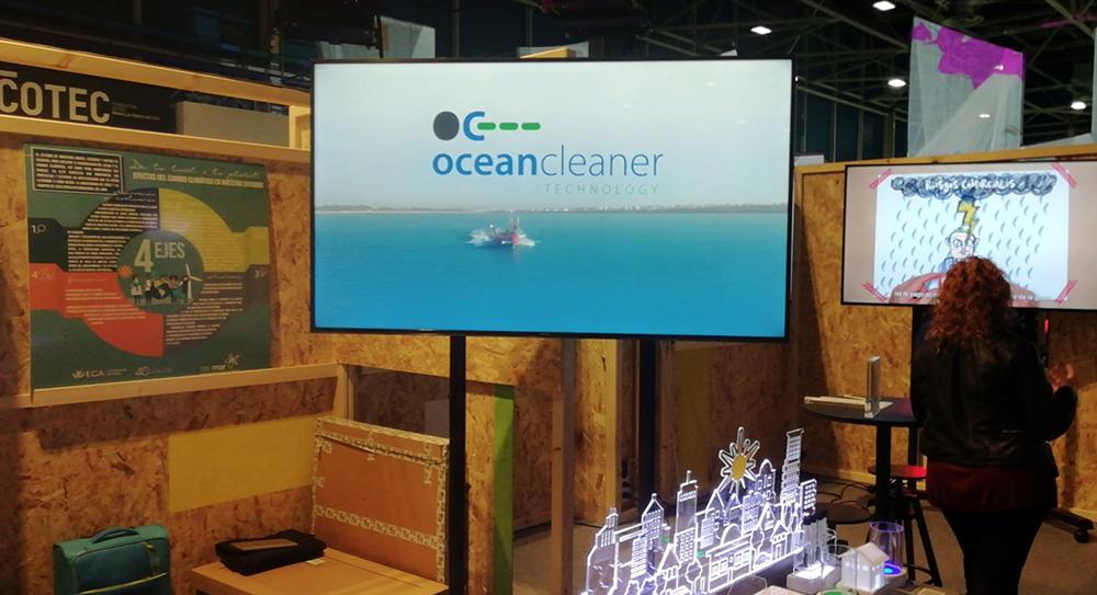 Ocean Cleaner en el COP25